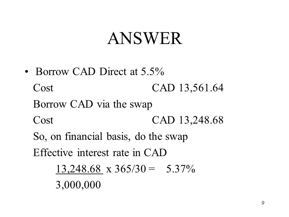 10 USES OF THE SWAP Can be used to invest or borrow in a foreign currency for a specified period of time without creating an fx exposure concentrate funds from a number of different currencies into one currency to obtain better rates without creating an fx exposure offset surplus funds in one currency against deficit in another currency for a specified period of time without creating an fx exposure