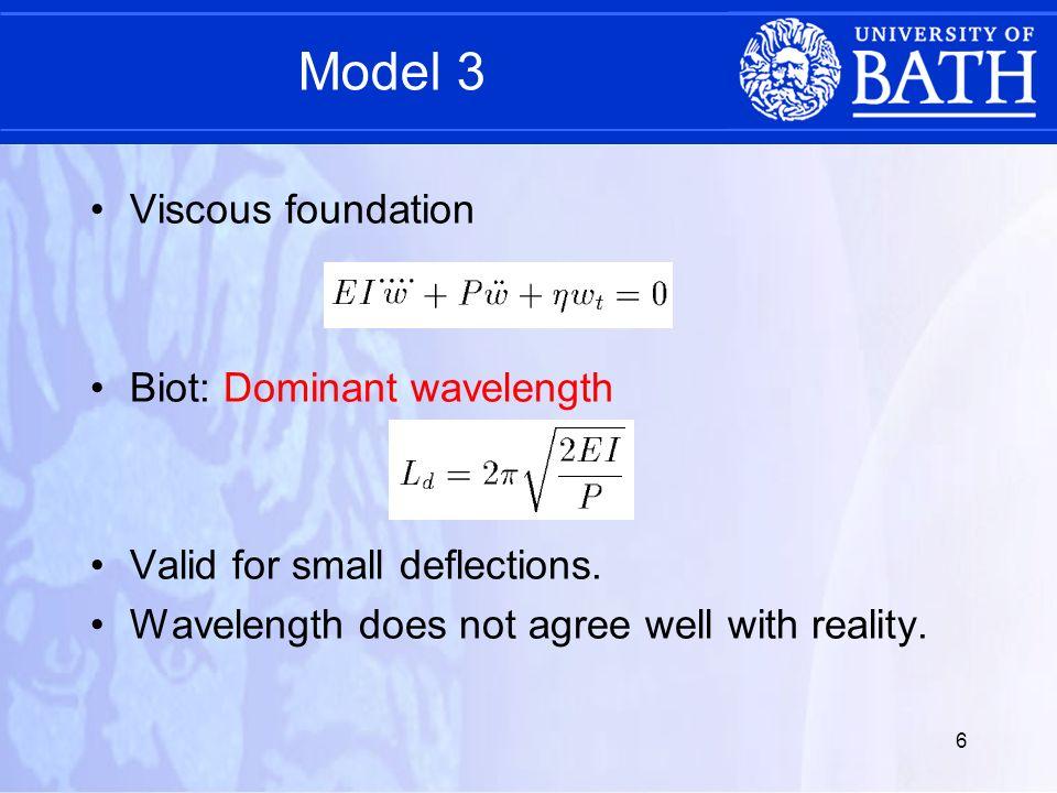 7 Multilayer models Two layer model developed (Budd et al.