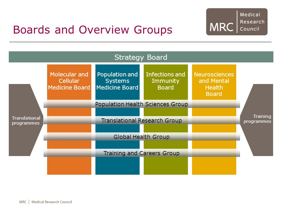 Boards and Overview Groups Molecular and Cellular Medicine Board Strategy Board Population and Systems Medicine Board Infections and Immunity Board Ne