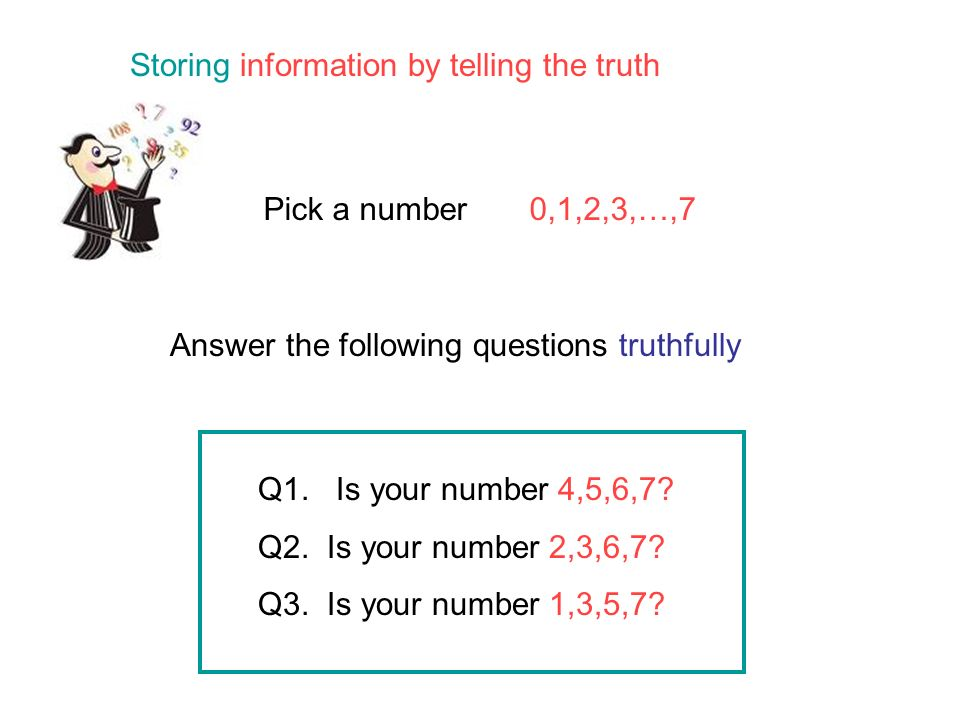 It is important that we store, transmit and search this information carefully and without making mistakes Maths helps us to do this…
