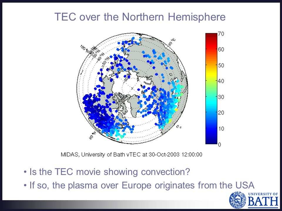Is the TEC movie showing convection.