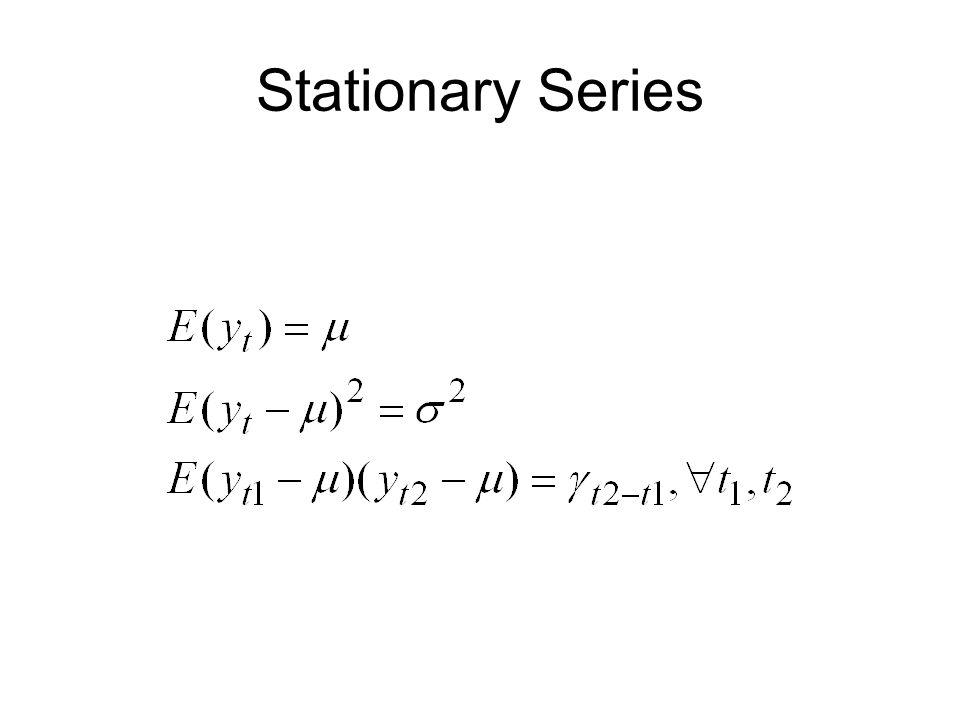 Stationary Series