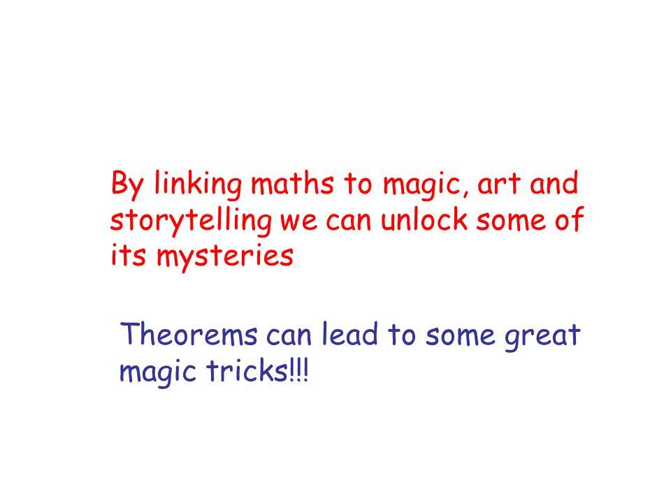Some Mathematical Magic Tricks Clocks Cards Mind reading