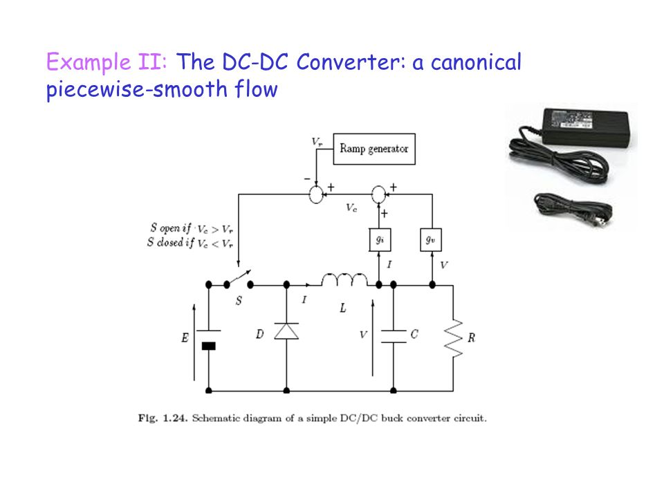 Example II: The DC-DC Converter: a canonical piecewise-smooth flow