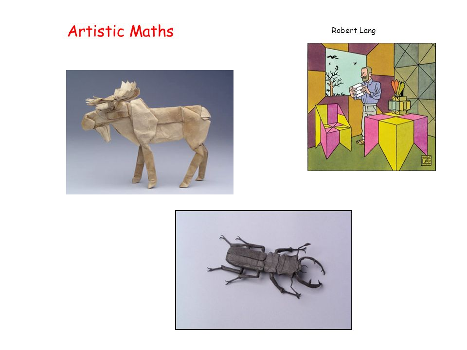 Artistic Maths Robert Lang