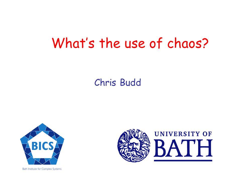 a = 3.8 Chaos