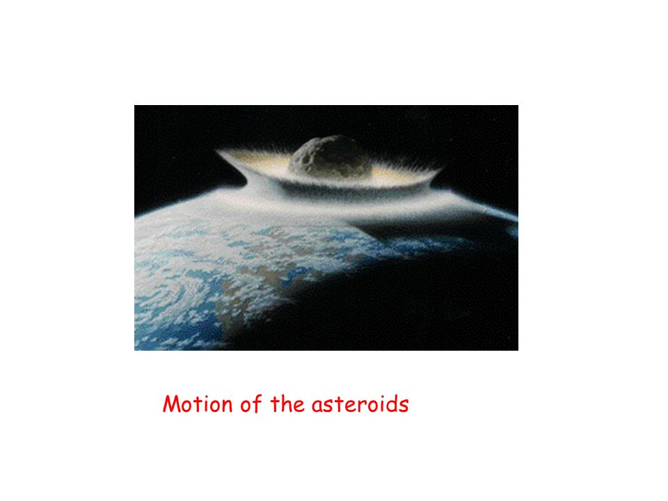 Motion of the asteroids