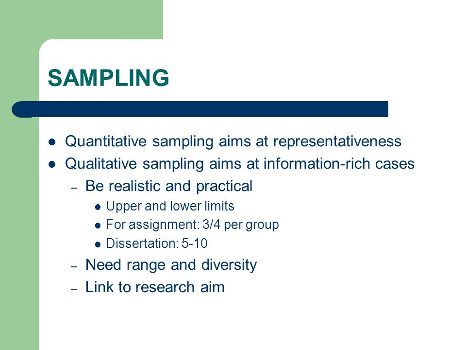 OTHER METHODOLOGICAL ISSUES TO CONSIDER.Gatekeeper bias Participant led research.