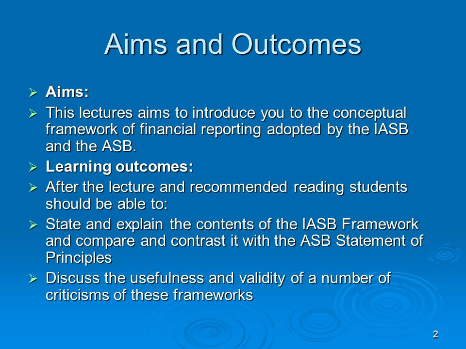 3 What is a conceptual framework?..