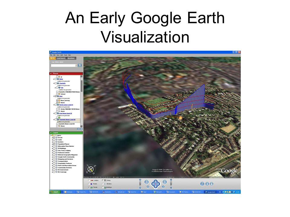 An Early Google Earth Visualization