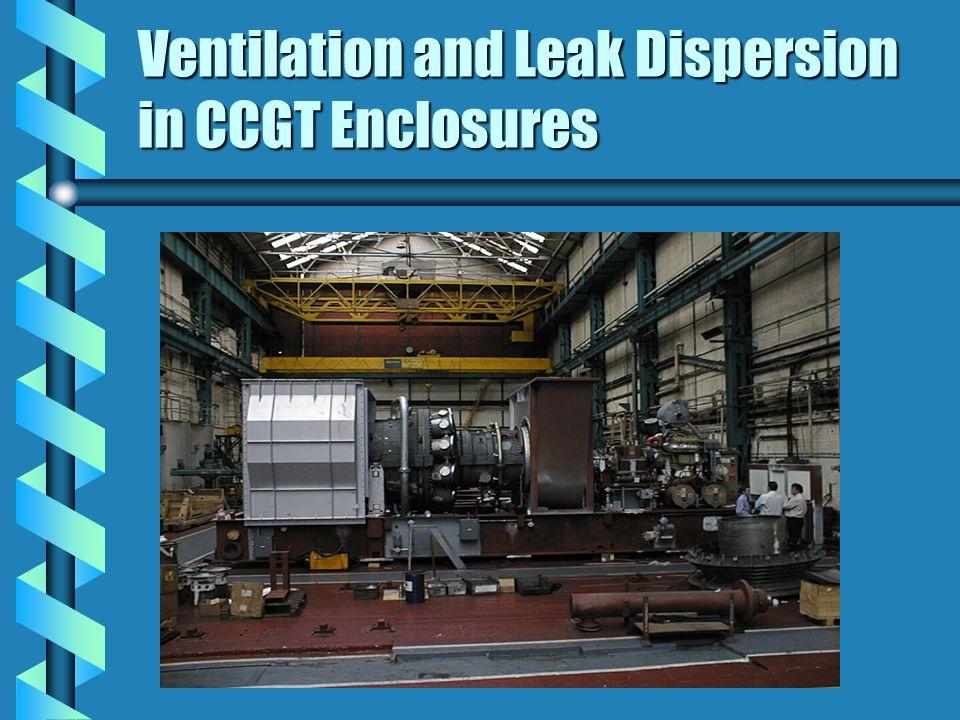 Ventilation and Leak Dispersion in CCGT Enclosures