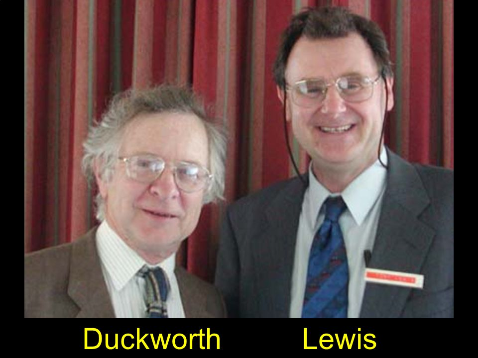 Duckworth Lewis