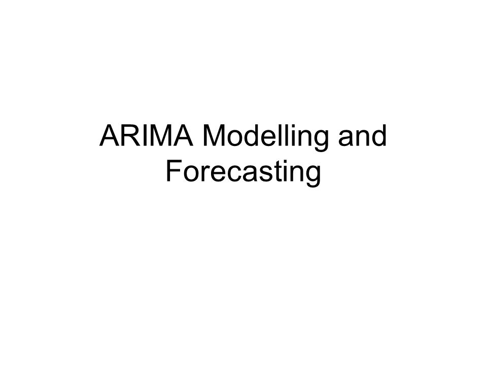 Introduction Describe the stationarity of the AR process Determine the mean and variance of the AR process Assess the importance of Box-Jenkins methodology Describe the various types of forecasts Evaluate the measures of forecast importance