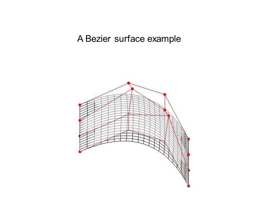 A Bezier surface example