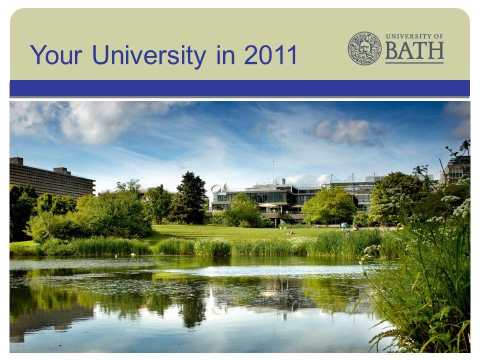 The UniversityYour University in 2011