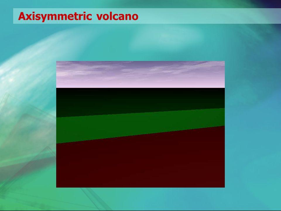 Axisymmetric volcano