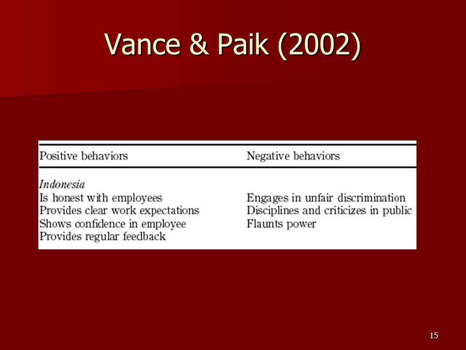 15 Vance & Paik (2002)