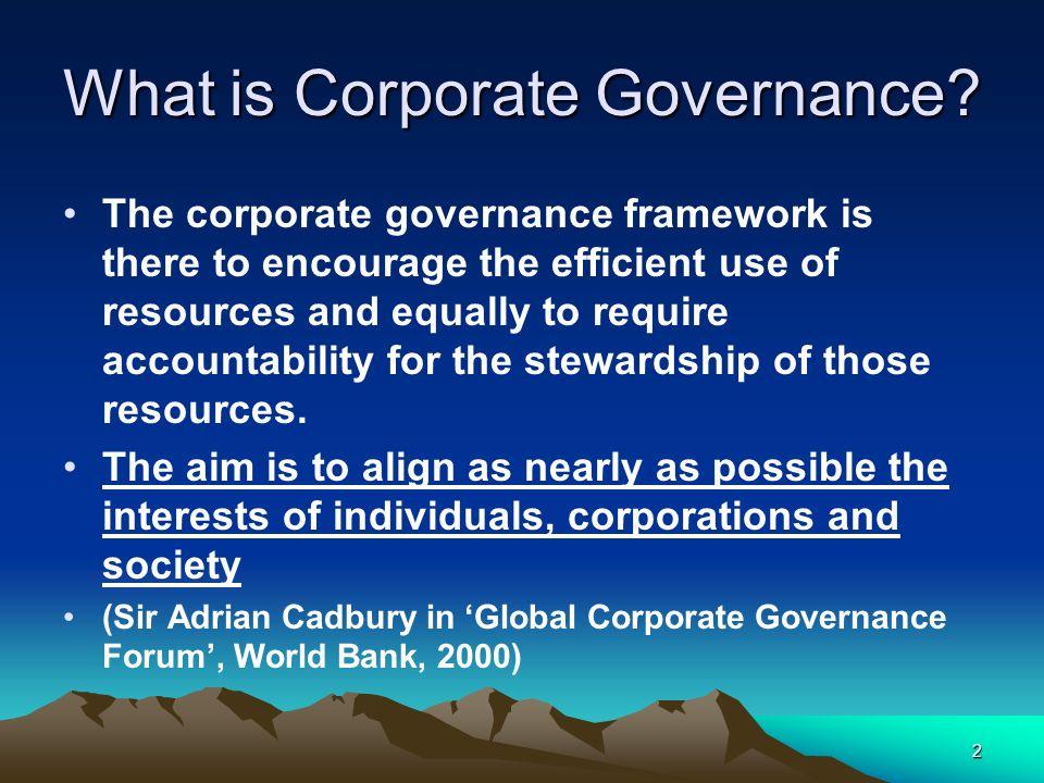 13 History of Corporate Governance 3 stage model – Judge & Naoumova (2004) 3.
