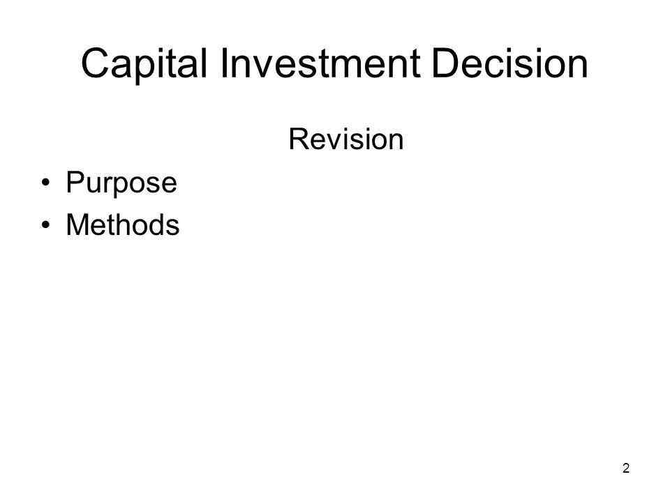 2 Revision Purpose Methods