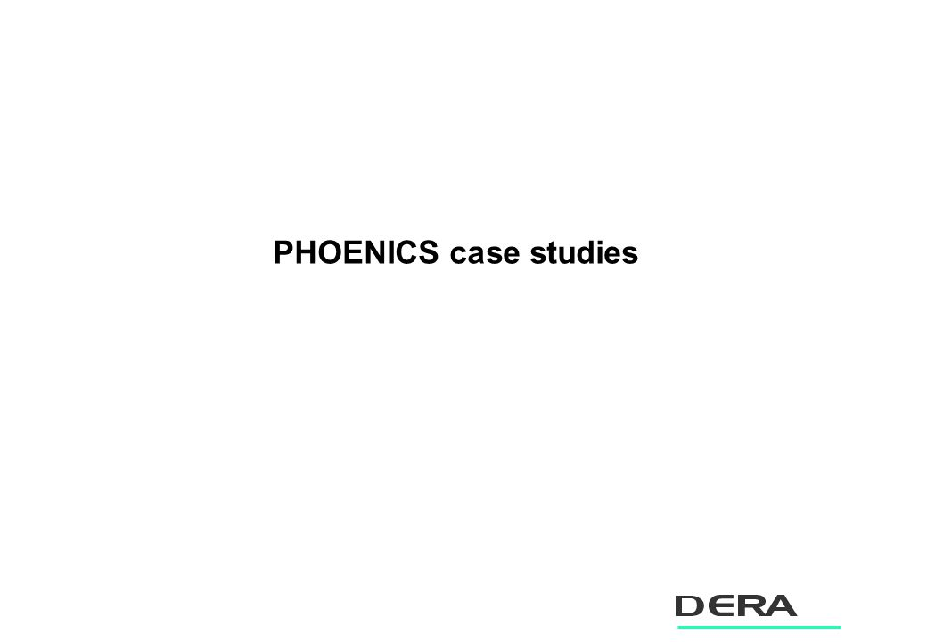 PHOENICS case studies