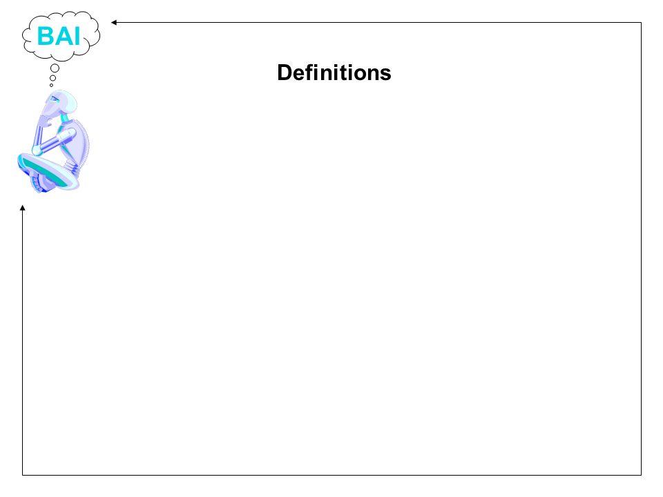 BAI Definitions