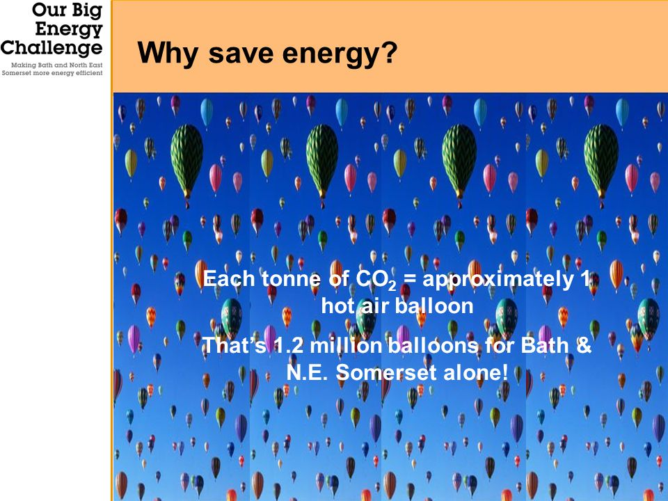 Why save energy.
