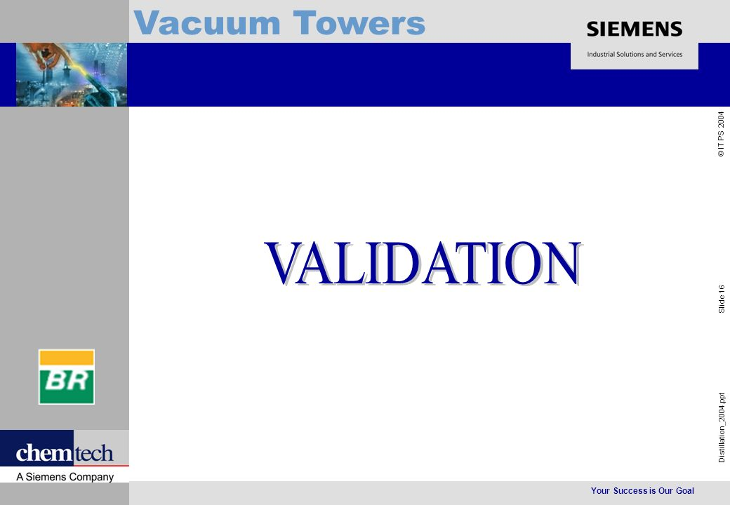 Your Success is Our Goal Distillation_2004.ppt Slide 16 © IT PS 2004 Vacuum Towers