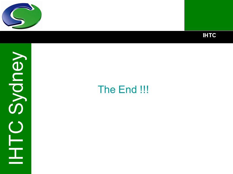 IHTC IHTC Sydney The End !!!