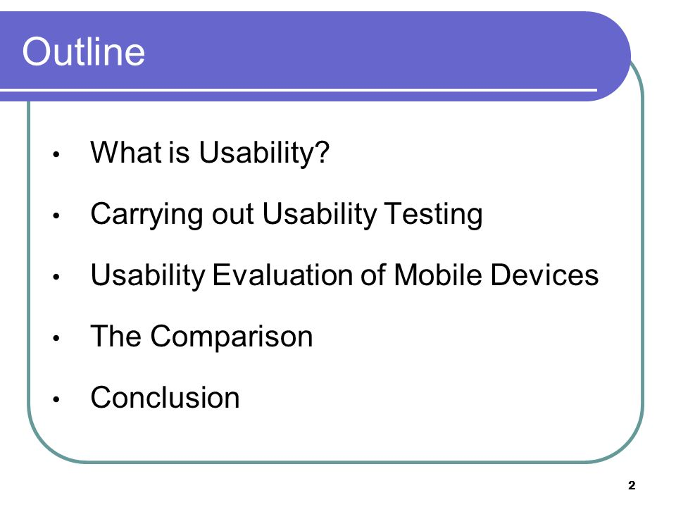 What is Usability.