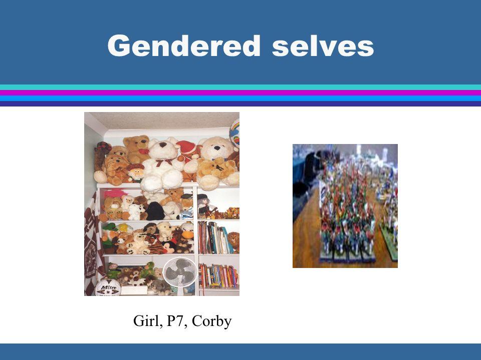 Gendered selves Girl, P7, Corby