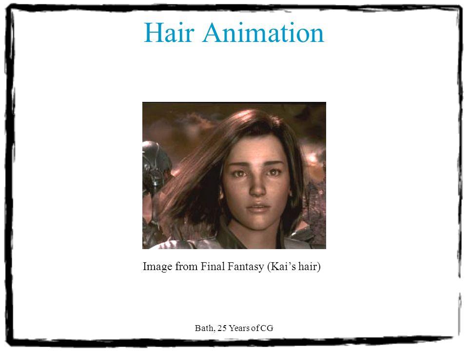 Bath, 25 Years of CG Hair Animation [Noble & Tang 2004]
