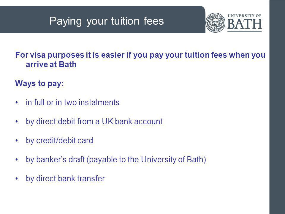 Opening a UK bank account you can use Barclays and Santander on campus NatWest, HSBC and other major banks are in the city centre different accounts are available - some bank accounts offer only cash card accounts, others offer debit/credit cards.