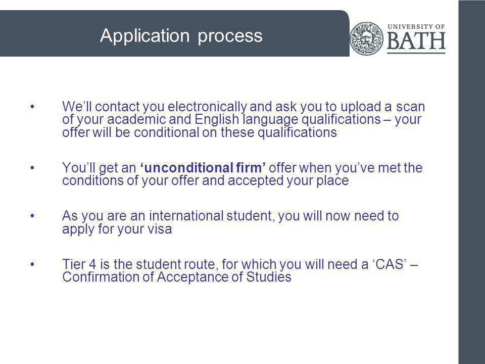 What is a Confirmation of Acceptance for Studies (CAS).