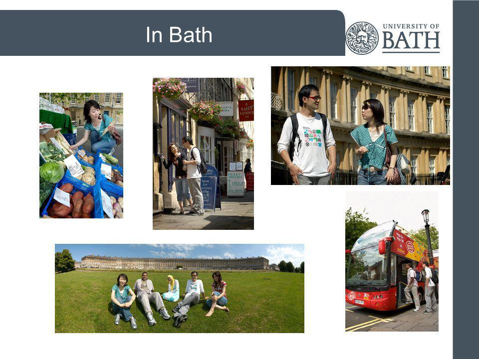 Keep in touch with us University of Bath International Applicants Facebook page – like us.