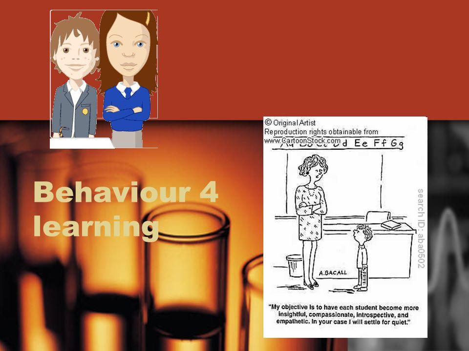 Behaviour 4 learning