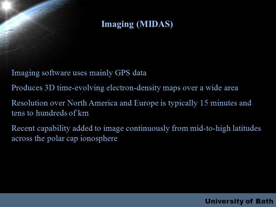 University of Bath Ground-based GPS Space-based GPS