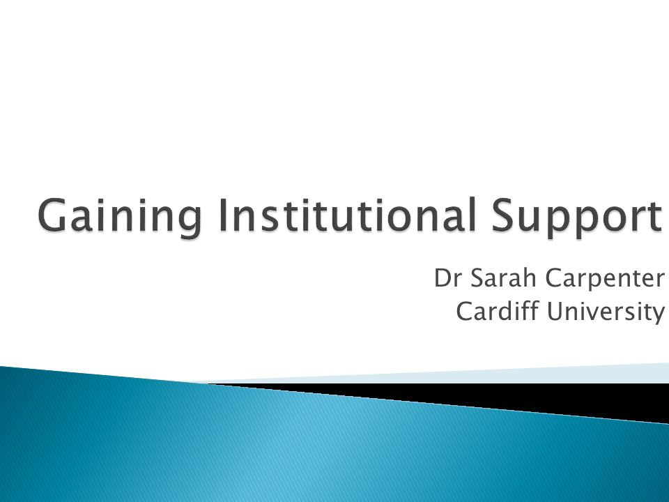 Dr Sarah Carpenter Cardiff University