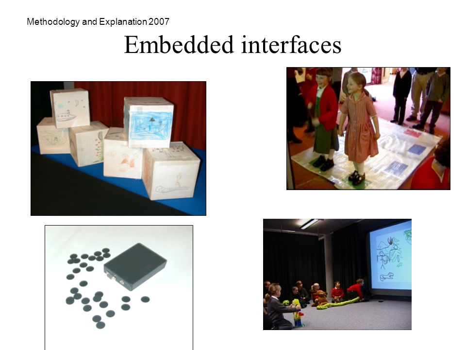 Methodology and Explanation 2007 Embedded interfaces