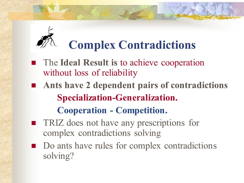 Contradictions In Ants Life Ant & Colony