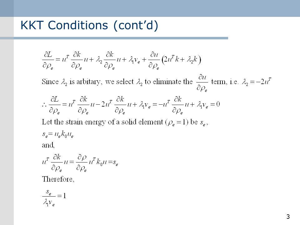 3 KKT Conditions (contd)