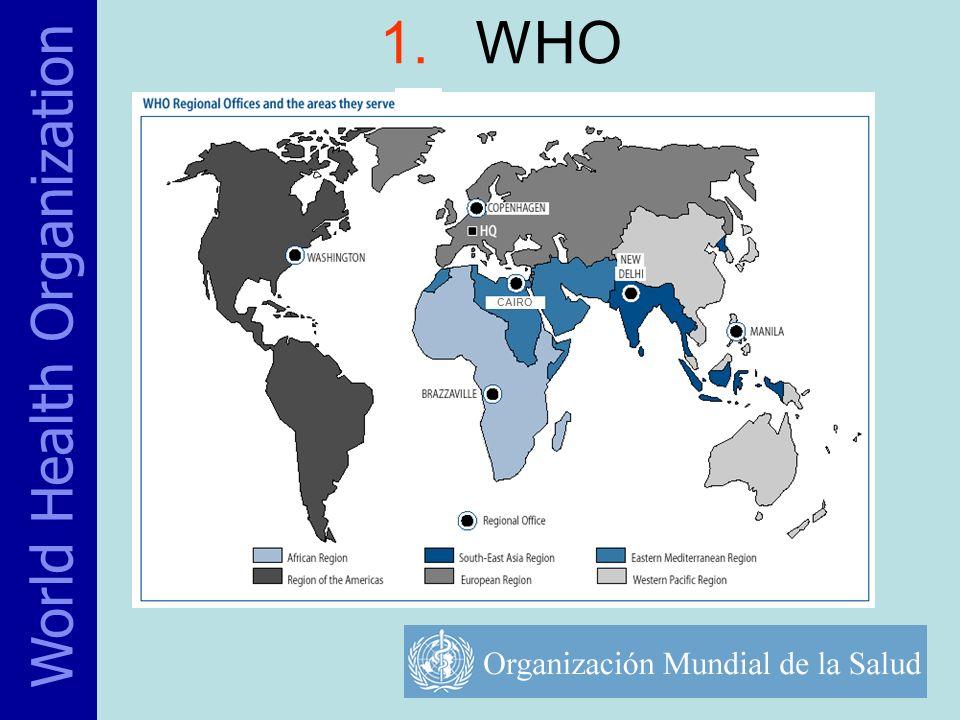 1.WHO World Health Organization CAIRO