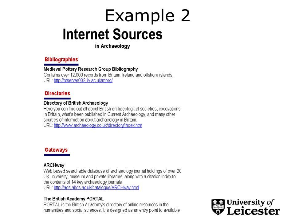 Cataloguing E-resources