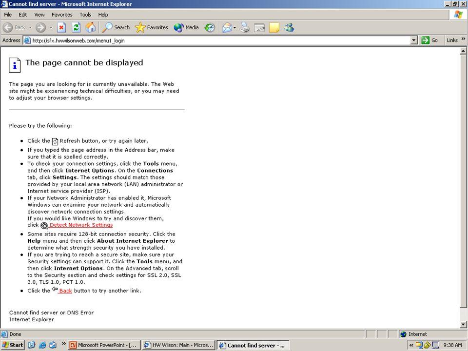 EUUG Amsterdam Sept 2004 Aug 21, 2003 Sirsi Internal Communication Confidential What does a link resovler do.