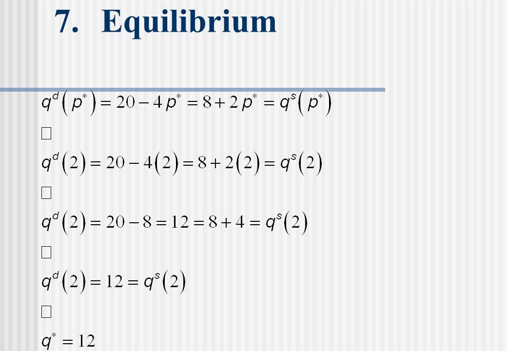 7. Equilibrium