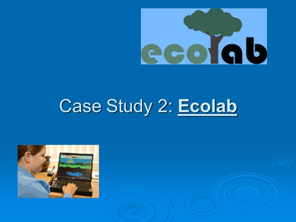 Case Study 2: Ecolab