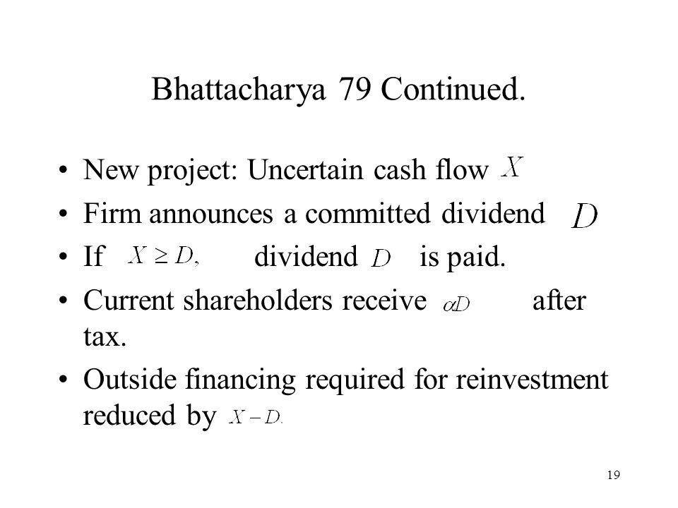 19 Bhattacharya 79 Continued.