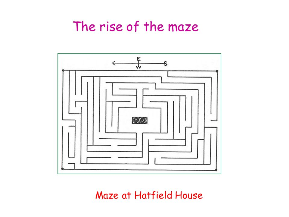 The rise of the maze Maze at Hatfield House