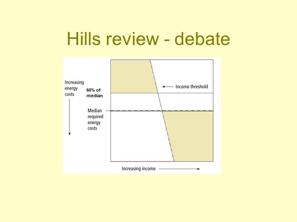 Hills review - debate