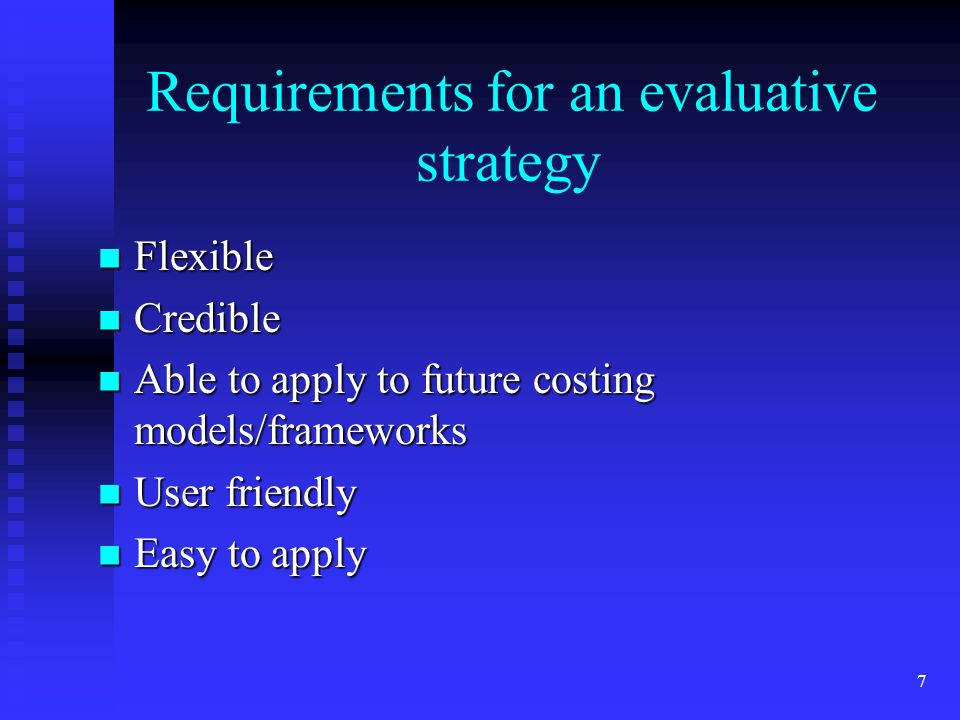 8 Proposed Evaluative Criteria Acquisition and Preservation -related activities Acquisition and Preservation -related activities Access-related activities Access-related activities Elements of extant cost models and frameworks could be assigned into each of these categories Elements of extant cost models and frameworks could be assigned into each of these categories The categories can then be evaluated across the models according to institutional considerations The categories can then be evaluated across the models according to institutional considerations