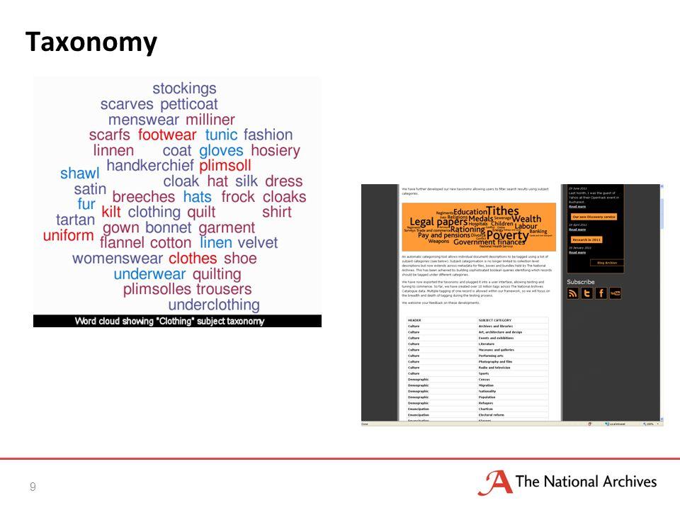 Taxonomy 9